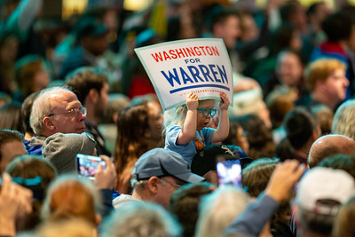 USA – 2020 – Elizabeth Warren at Seattle Center