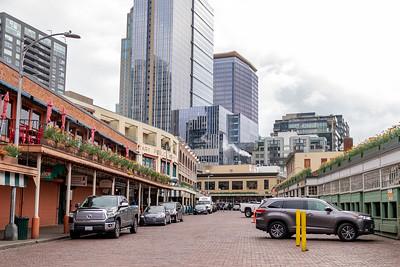 Downtown Seattle Under Coronavirus Lockdown Quarantine