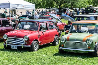 1969 Austin Mini Cooper S and Austin Mini