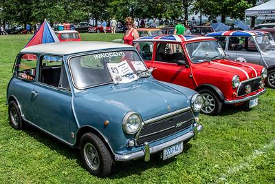 1973 Innocenti Mini Cooper and Austin Mini