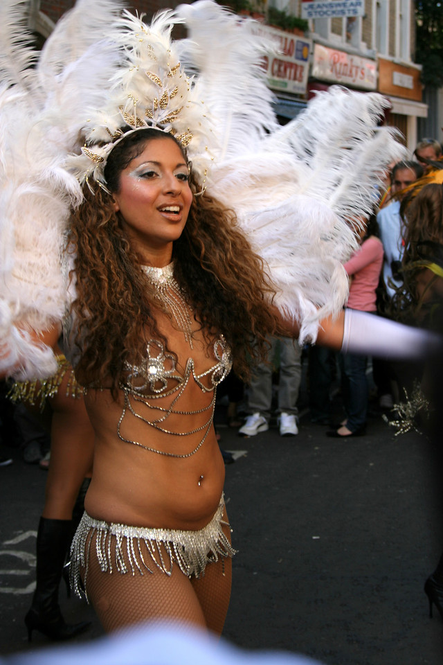 Notting Hill Carnival dancers