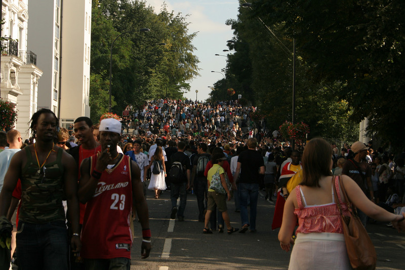 Notting hill Carnival - Ladbroke Grove