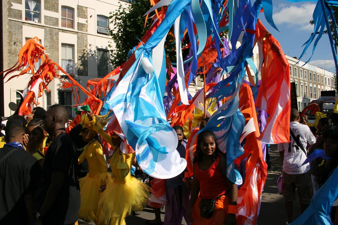 Notting hill Carnival parade