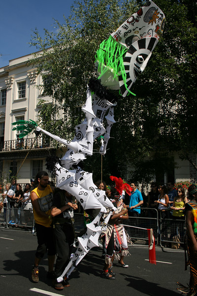 Notting Hill Carnival parade
