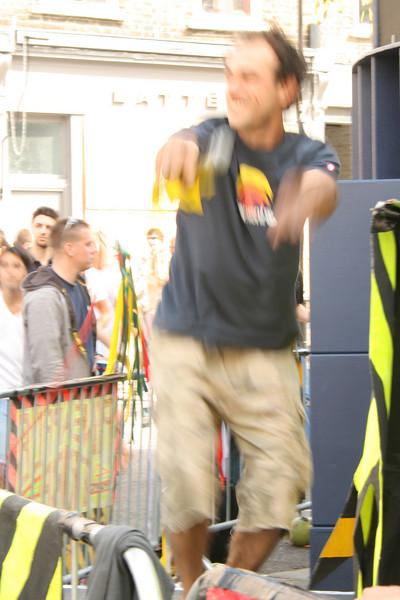 Notting hill Carnival Revellers