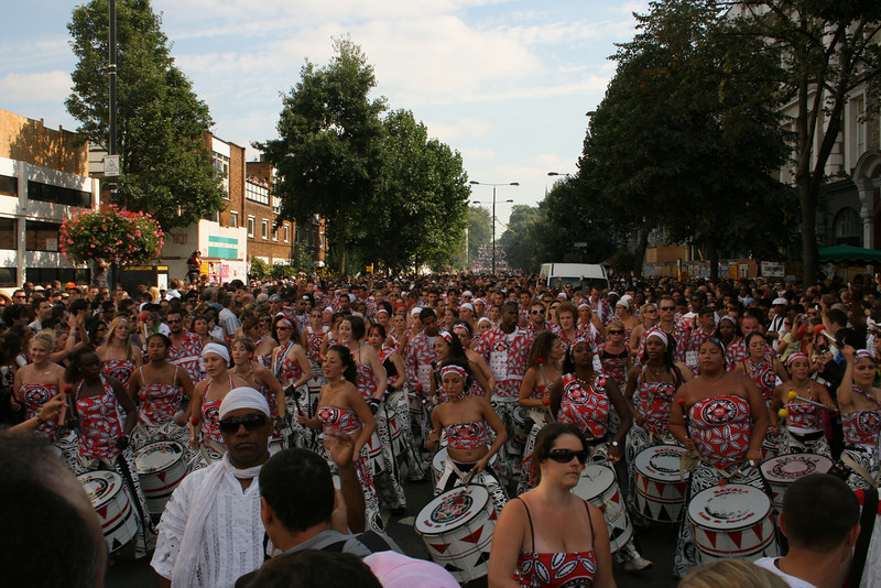 Notting hill Carnival bateria - ladbroke grove