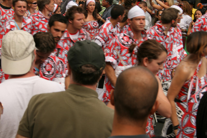 Bateria at Notting hill Carnival