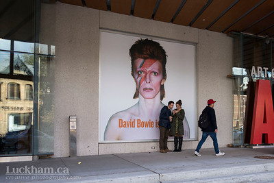 David Bowie is... at the AGO in Toronto 2013