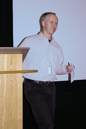 Justin Irwin at the Get Connected AGM 2007