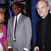 Sharon Pinkenson, GPFO, writer Elvis Mitchell and Timothy Greenfield-Sanders