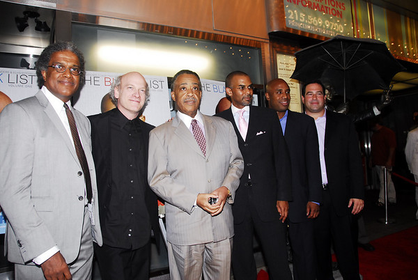 (Writer) Elvis Michell, (Director) Timothy Greenfied-Sanders, Rev. Al Sharpton, (Porducers) Payne Brown, Tommy Walker and (Philadelphia native) Michael Slap Sloan