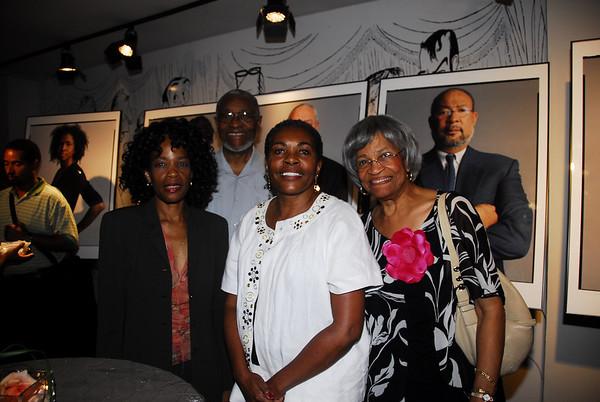 Publisher Lela Ward Oliver, Edgar Lee, Gaybrella Lewis and Mary Lee