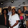 Publisher Lela Ward Oliver, Edgar Lee, Gaybrella Lewis and Mary Lee