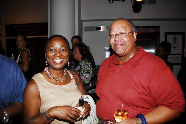 Jennifer Jordan and Wayne Wormley