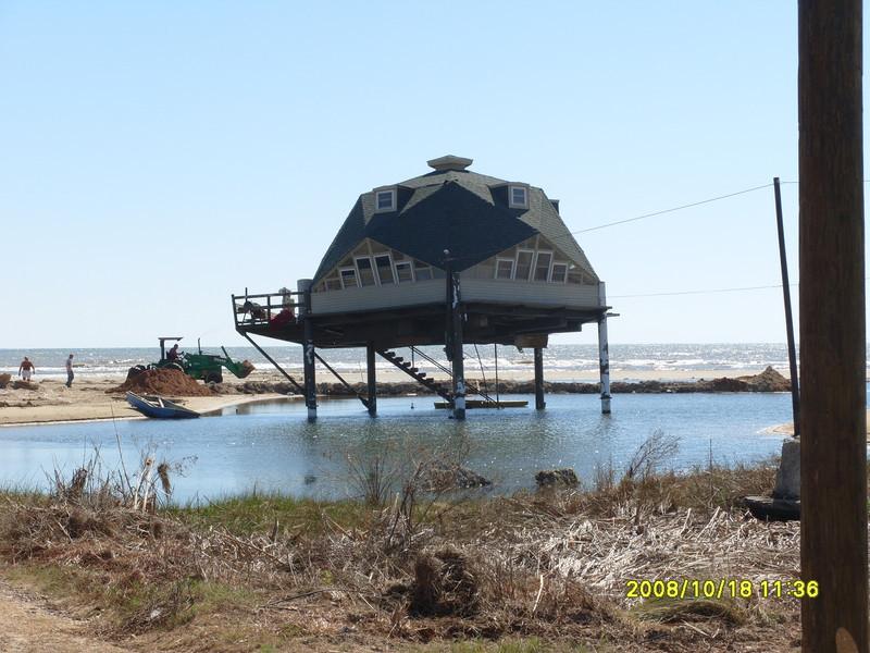 Hurricane Ike - Galveston and Blue Water Highway