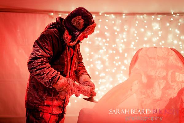 Ed Jarrett, (Ice Sculpter)