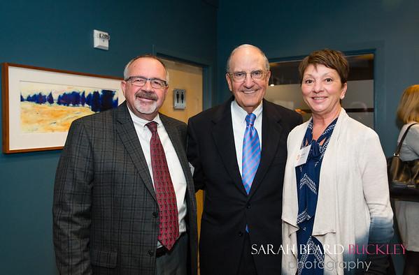 Skip Edgerley, Senator George Mitchell and Anna Edgerley