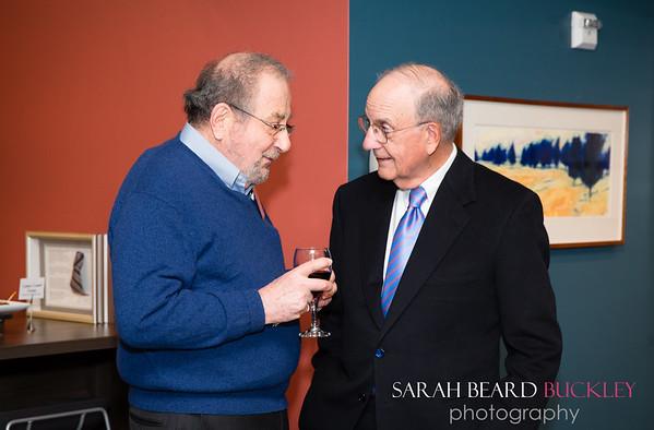 Harry Beskind and Senator George Mitchell