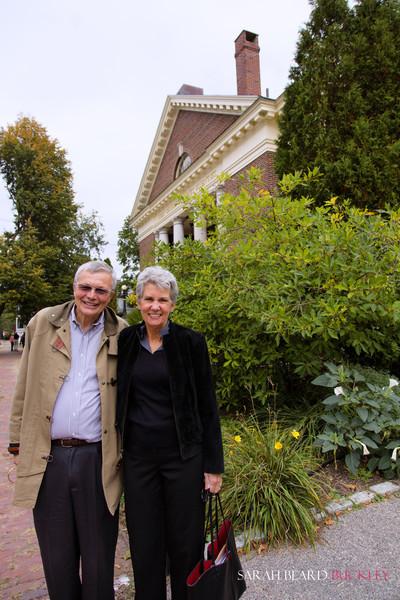 Milos and Elaine Sjoquist