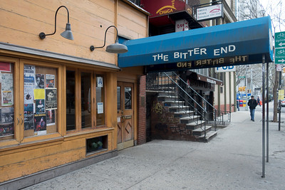 David Bowie would often check out The Bitter End, NY's oldest night club.
