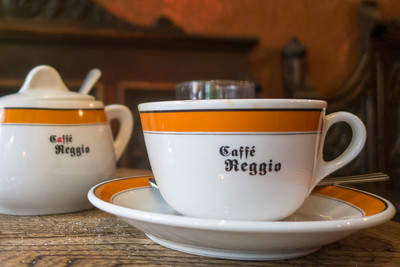 David Bowie's favourite, Cafe Reggio