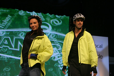 Fashion show at the Cycle Show 2007