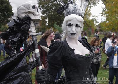 Queen of the Zombies - Zombie Walk 2013