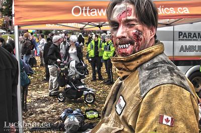 First Responder Zombie - Zombie Walk 2013