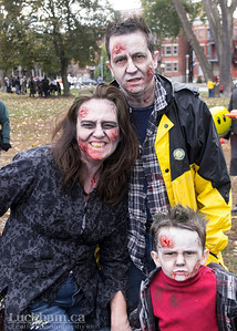 Zombie Family outing - Zombie Walk 2013
