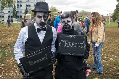 Silent Movie Zombies - Zombie Walk 2013