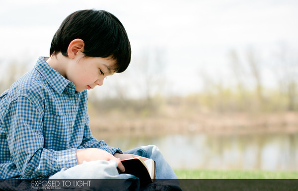 Boy with bible-3