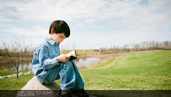 Boy with bible-5