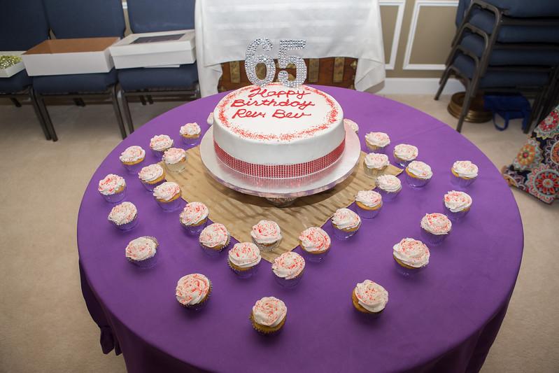 Rev. Bev's 65 Surprise Party