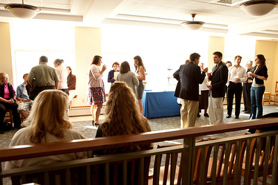 Saint Joseph's College Awards Ceremony held on Friday April 15th 2011 at the College in Standish, ME.  Photograph taken by Portland, Maine based photographer Jeff Scher.