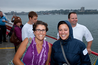 Saint Joes College Casco Bay Alumni Cruise , 7.29.11.  Photograph taken by Portland, Maine based photographer Jeff Scher.