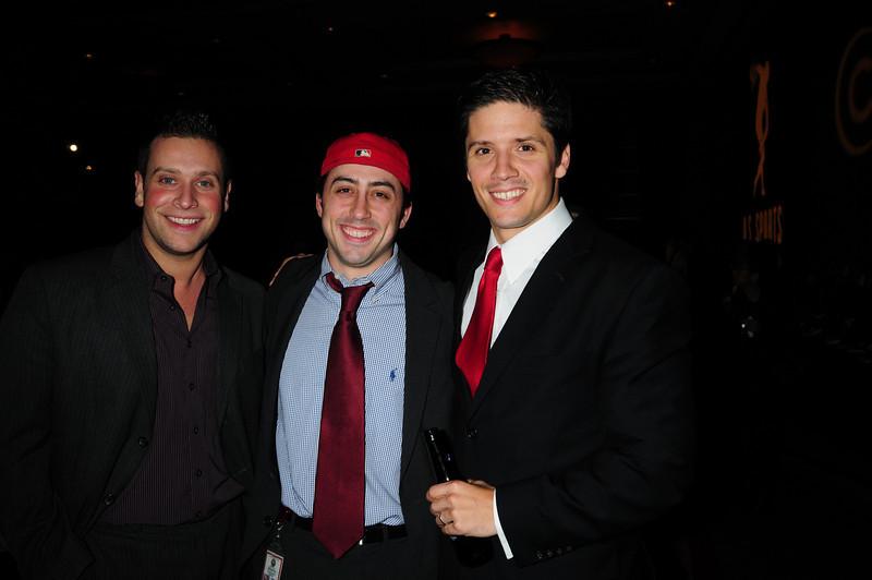 Josh Katz, Asst. Phila DA Jeremy Menkowitz and Christopher Cabott, Entertainment Attorney