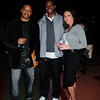 Ron Evans, with Philadelphia Soul player Sean Scott and Allison DiBonaventura