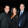 Producer Richard Furlin, Josephine Campanella and Sports Broadcaster Ron Zaslow, (All from NYC)