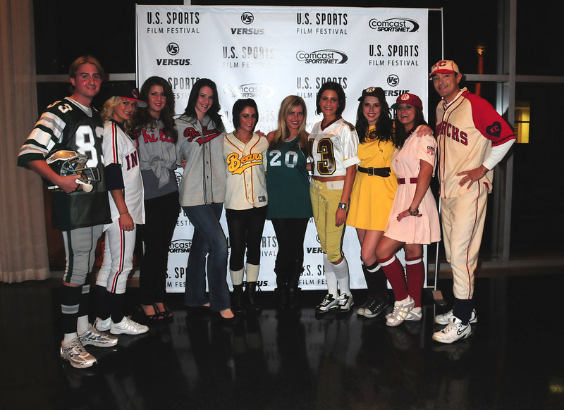 Matt Collier, Kae Crede, Grace Sacco, Katie Doyle, Andrea Ford, Danielle Merryfield, Joann Famular, Megan Hellander, Alison Land, and Mike Murphy (The actual costumes that the stars wore in various movies)