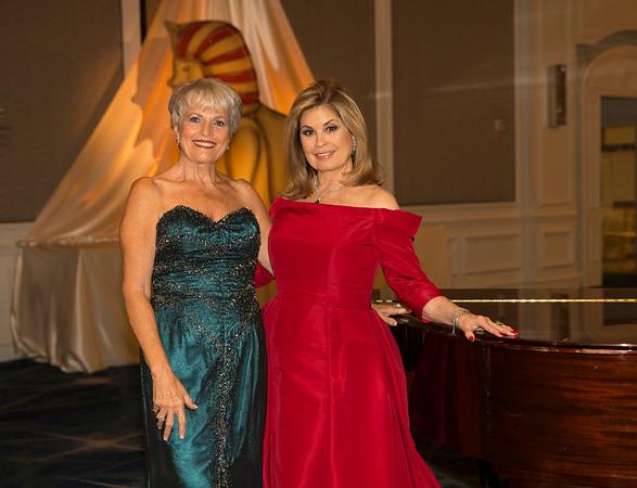 Edie Chaifetz and Sandra Lindqvist, Opera Chairs