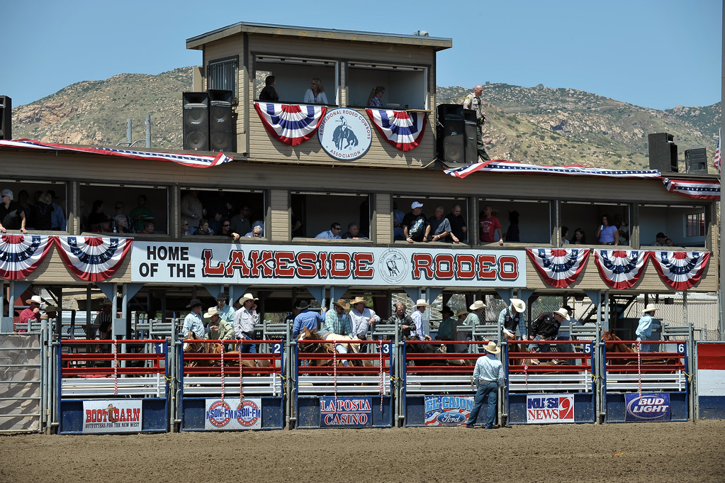 Patriotic Rodeo event