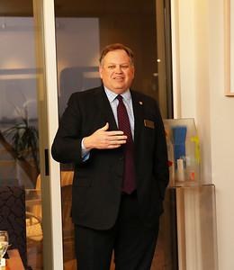 CEO of Sarasota Hospital, David Verinder