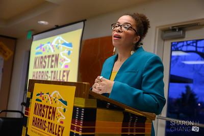 Kirsten Harris-Talley Campaign Kickoff