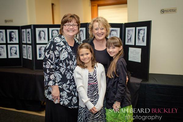 Angela & Caroline Westhoff, Diane Dubord & Cassie Jackson