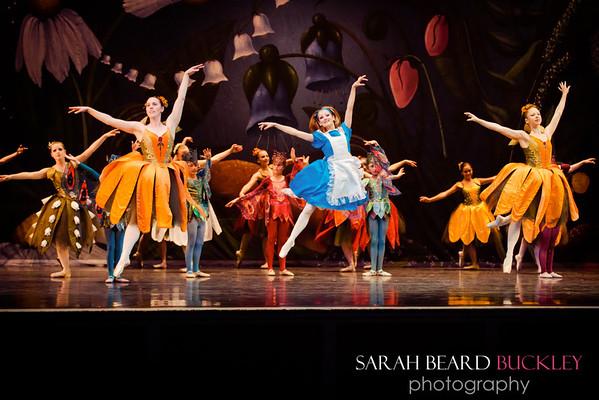 Corps-de-Ballet of Living Flowers