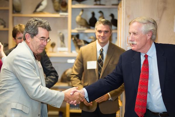 Ted Koffman & Senator Angus King
