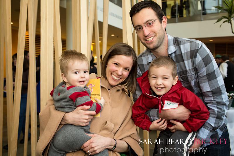 James, Katie, Tom & Sam Minervino