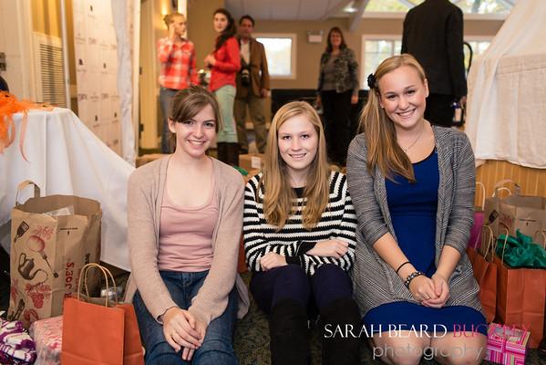 Lily Mackenzie, Becca Tarling and Acadia Stewart