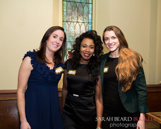 Jen Craven, Joanna Lamour and Abby Kirschbaum