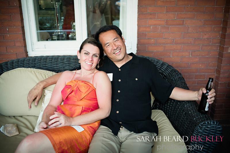 Laura Warren and Jason Higgins